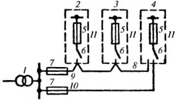 однолинейная электрическая схема дома